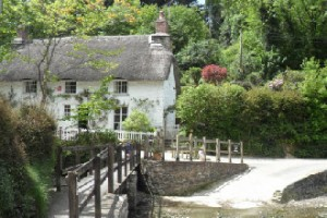 Old cottage at the top of Helford Creek