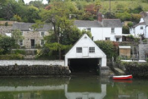Old boathouse at Helford