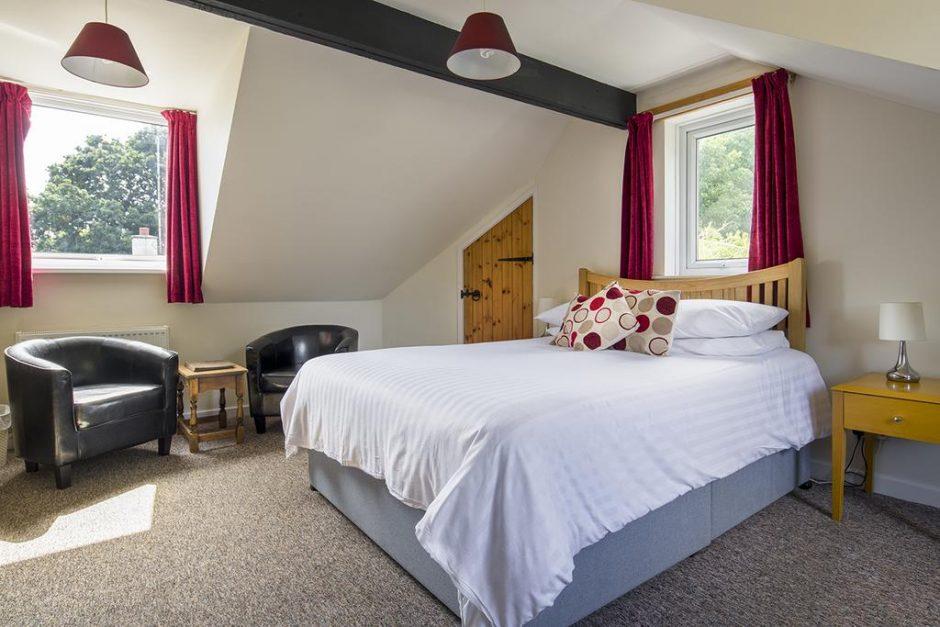 Trengilly Wartha Inn bedroom